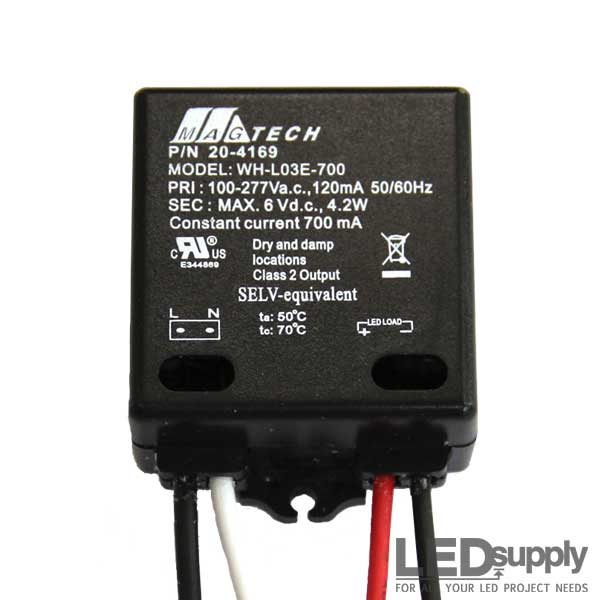 magtech 3 watt 700ma constant current led driver  chanzon led driver 600ma (constant
