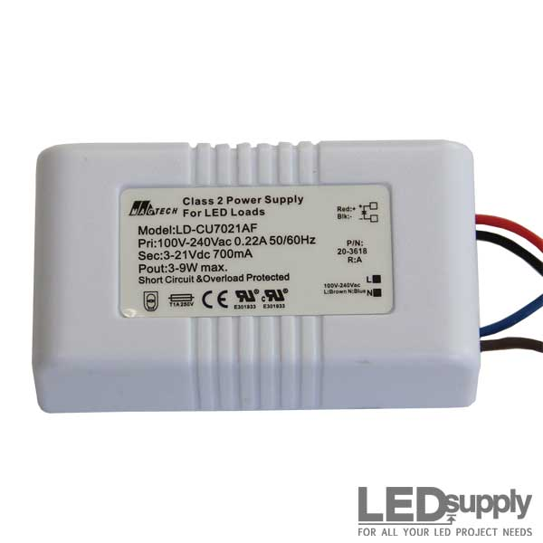 magtech 9 watt 700ma constant current led driver  super high powered leds & components