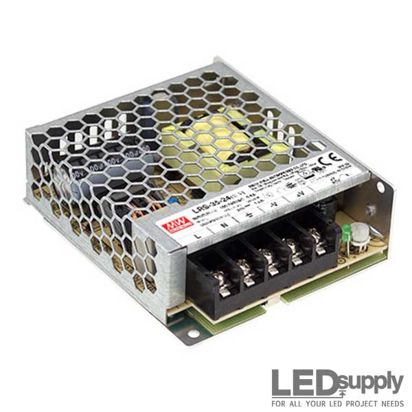 Mean Well LRS Series Enclosed Style Switching Power Supply