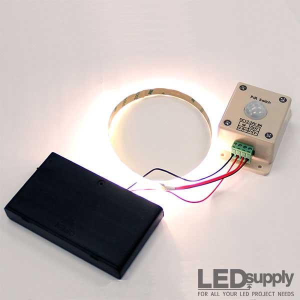 Led Motion Sensor Strip Light Battery Powered