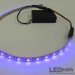 Purple (UV) 3AA Battery Operated LED Strip Kit