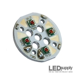 Cree XPE - QuadPod 4-Up Red High Power LED