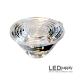 10003-15 Carclo Lens - 20mm Ripple Medium Spot LED Optic