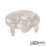 10509 Carclo Lens - 3-Up Frosted Wide Spot LED Optic