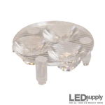 10510 Carclo Lens - 3-Up Elliptical Spot LED Optic