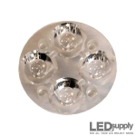 10621 Carclo Lens - Quad Plain Spot LED Optic