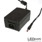 Desktop Power Supply - 24VDC 1.7AMP