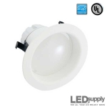 4-Inch IC/UL LED Downlight with White Trim