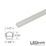 Clear Plastic Mounting Track for AC LED Flex Strips