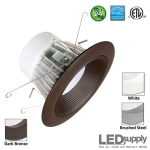 Interchangeable 5-Inch or 6-Inch LED Downlight