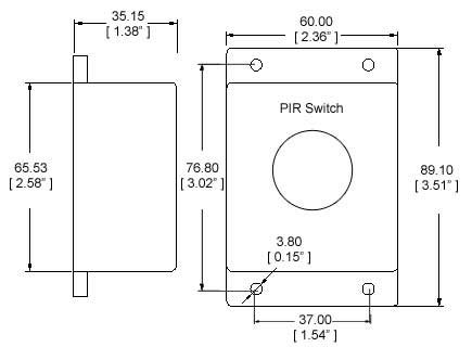 PIR motion switch